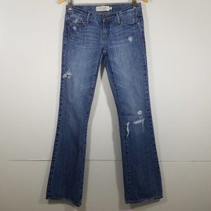 Abercrombie & Fitch Emma Low Rise Jeans Size 0R